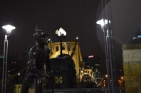 Rainy Clemente Bridge