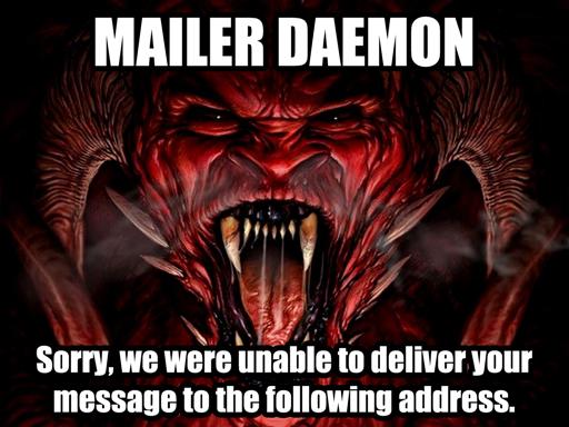 mailer daemon tech daily. Black Bedroom Furniture Sets. Home Design Ideas